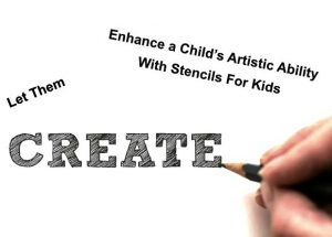 Create Stencil Art With Kids