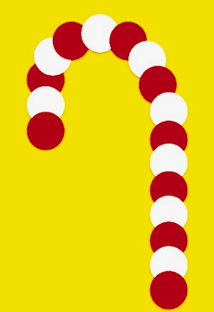 Circle Candy Cane